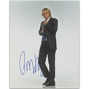Owen Wilson Autograph Signed Photograph