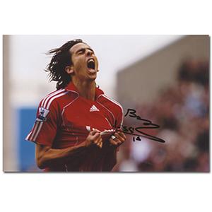 Yossi Benayoun Autograph Signed Photograph
