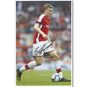 Nicklas Bendtner Autograph Signed Photograph