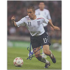 Joe Cole Autograph Signed Photograph
