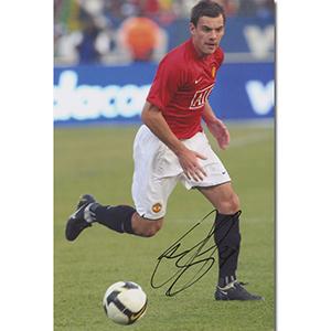 Darren Gibson Autograph Signed Photograph