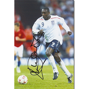 Emile Heskey Autograph Signed Photograph