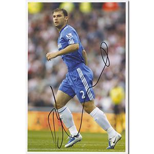 Branislav Ivanovic Autograph Signed Photograph