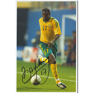 Benni McCarthy Autograph Signed Photograph