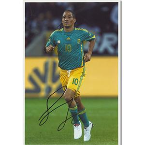 Steven Pienaar Autograph Signed Photograph