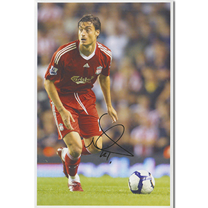 Albert Riera Autograph Signed Photograph