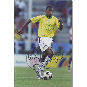 Robinho Autograph Signed Photograph