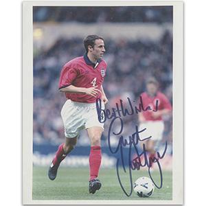 Gareth Southgate Autograph Signed Photograph