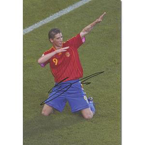 Fernando Torres Autograph Signed Photograph