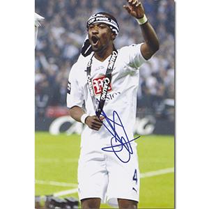 Didier Zokora Autograph Signed Photograph