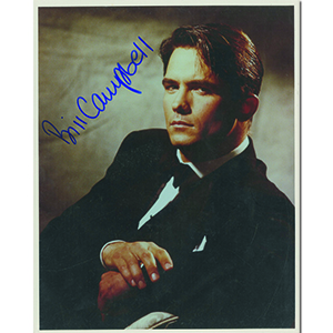 Bill Campbell Autograph Signed Photograph