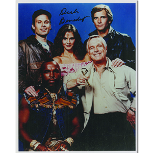 Dirk Benedict The A-Team Autograph Signed Photograph