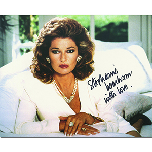 Stephanie Beacham Autograph Signed Photograph