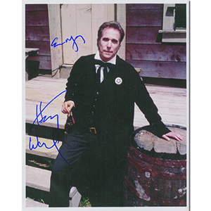 Henry Winkler Autograph Signed Photograph