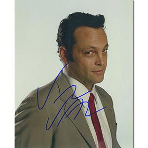 Vince Vaughn  Autograph Signed Photograph