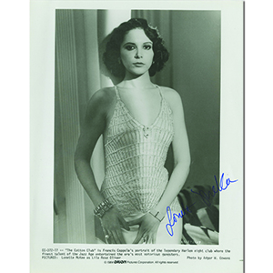 Lonette McKee Autograph Signed Photograph