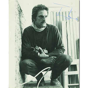 Jeremy Irons Autograph Signed Photograph