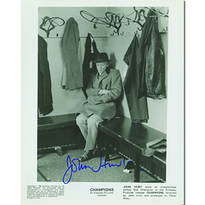 John Hurt Autograph Signed Photograph