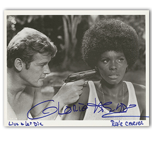 Gloria Hendry Autograph Signed Photograph