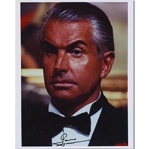 George Hamilton Autograph Signed Photograph