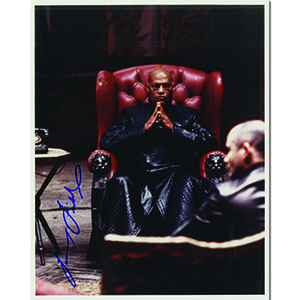 Laurence Fishburne Autograph Signed Photograph