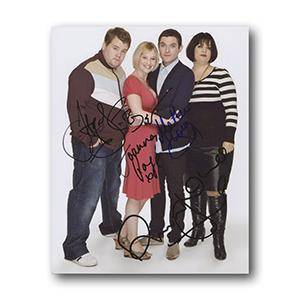 Gavin and Stacey Cast Members Autograph Signed Photograph