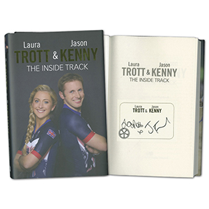 Jason Kenny & Laura Trott Signed Book The Inside Track