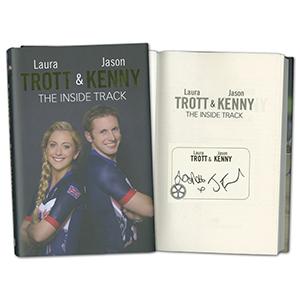 Jason Kenny & Laura Trott Signed Book The Inside Track