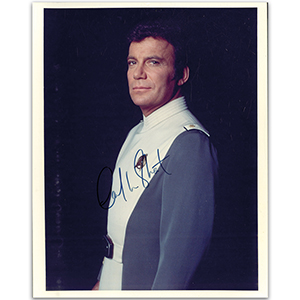 William Shatner Autograph Signed Photograph