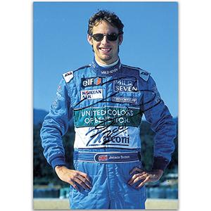 Jenson Button Autograph - Photograph