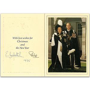 Queen Elizabeth II & Prince Philip (1975)