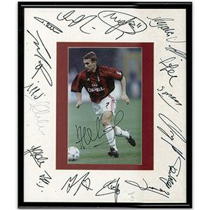AC Milan Team Autographers  Circa 1990s (Framed)