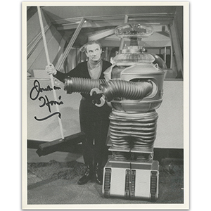 Jonathan Harris Lost in Space Autograph Signed Photograph