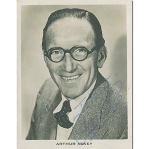 Arthur Askey - Autograph