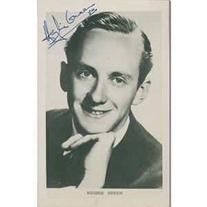 Hughie Green - Autograph