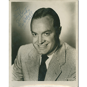 Bob Hope Signed Photograph