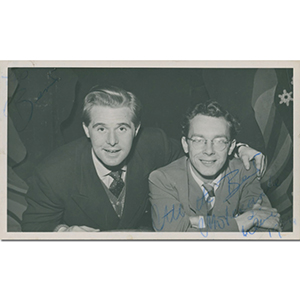 Morecambe & Wise Signed Autographed Photograph