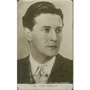 Ivor Novello - Autograph