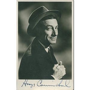 Hoagy Carmichael - Autograph