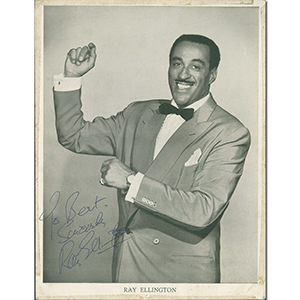 Ray Ellington - Autograph