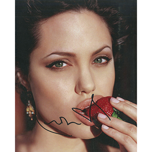 Angelina Jolie Autograph Signed Photograph