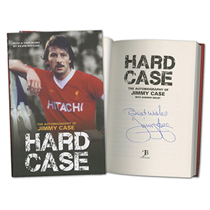 Jimmy Case Liverpool FC Signed Book