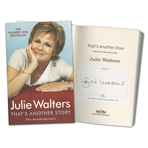 Julie Walters Signed Book
