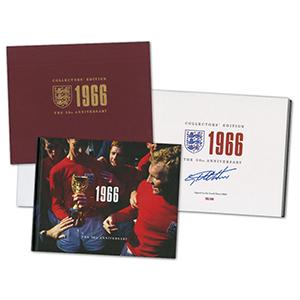Geoff Hurst Signed Book