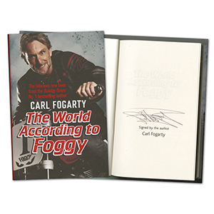Carl Fogarty Signed Book