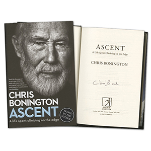 Chris Bonington Signed Book