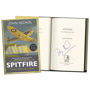 Spitfire: A Very British Love Story Book - Signed by Author