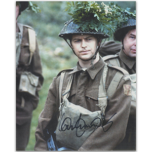 Ian Lavender Autograph Signed Photograph