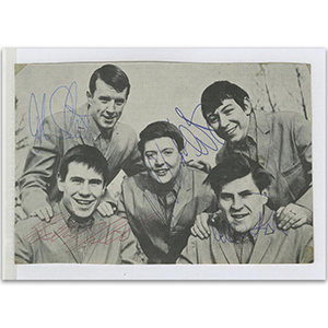 The Animals Autograph Signed Photograph