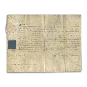 George III Signature - Official Document